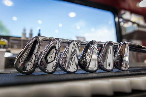 New Titleist 718 irons