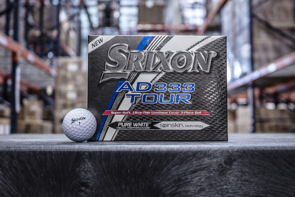 Srixon unveils third generation AD333 Tour ball