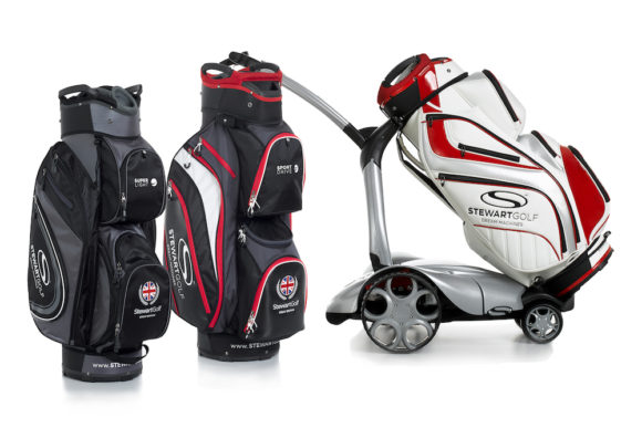 Stewart Golf has an awesome Christmas Cart bag promo for you