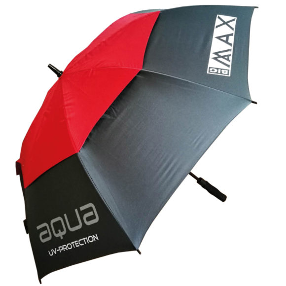 Aqua Uv Umbrella Charcoal Red