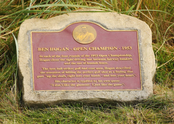 Ben Hogan Plaque