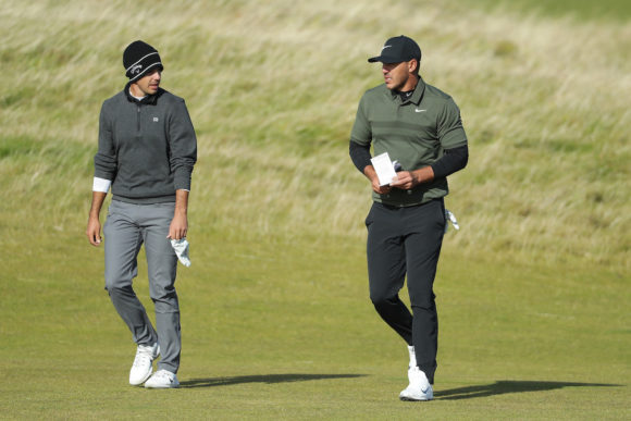 Brooks Koepka And Chase Koepka Playing Together
