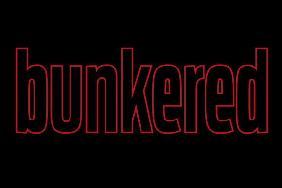 Bunkered Stranger Things Logo