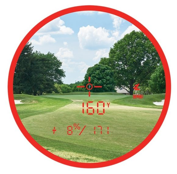 Bushnell Golf Pro Xe Display