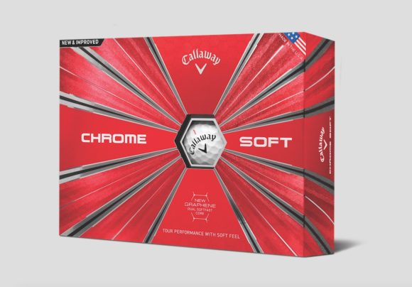 Callaway Chrome Soft ball 'better to its core'