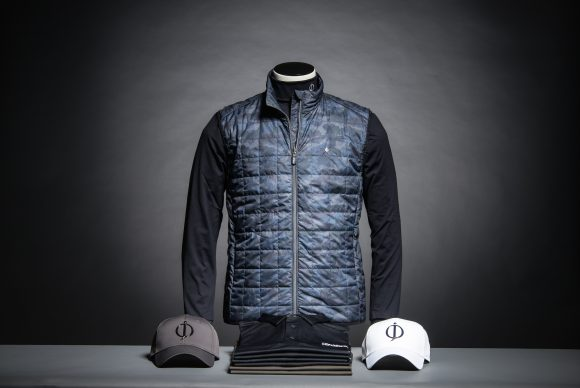 Caleb vest heads latest Oscar Jacobson apparel range