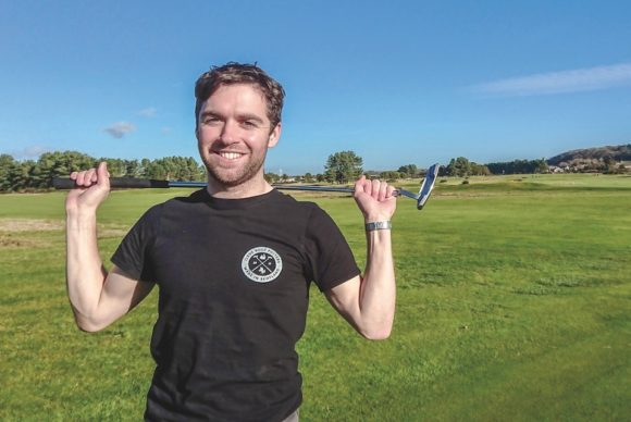 Meet the man behind Scotland's new putter brand