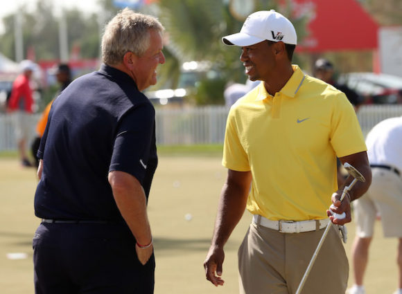 Colin Montgomerie Tiger Woods