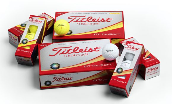Titleist introduces new DT TruSoft