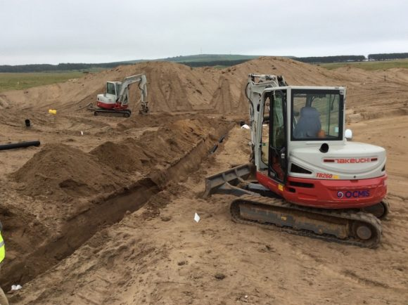 Dumbarnie Links Work Underway