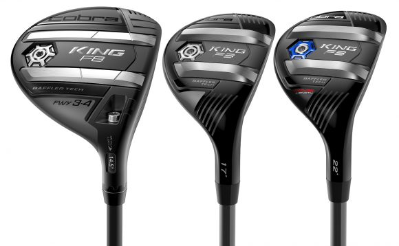 Cobra's KING F8 fairways & hybrids are most versatile ever