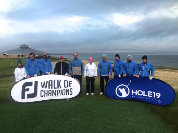 St Andrews plays host to the FootJoy Walk of Champions grand final