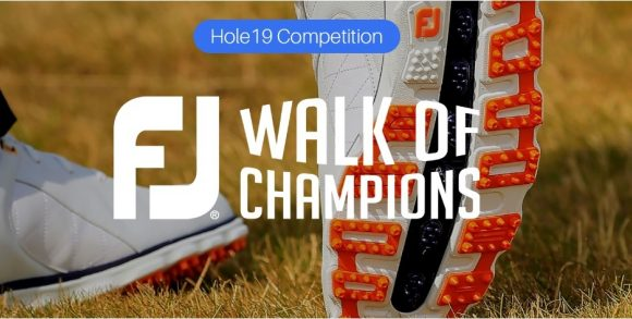 FootJoy launch Walk of Champions campaign