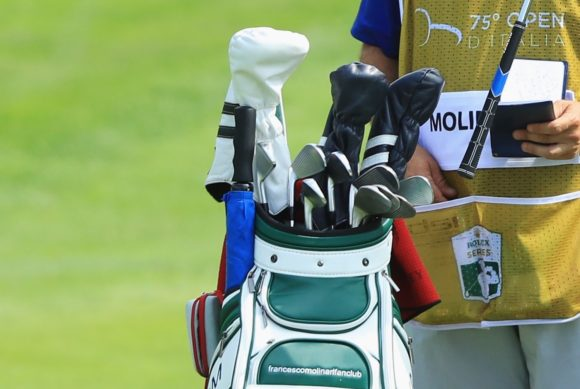 Take a look at the clubs that won The Open for Francesco Molinari