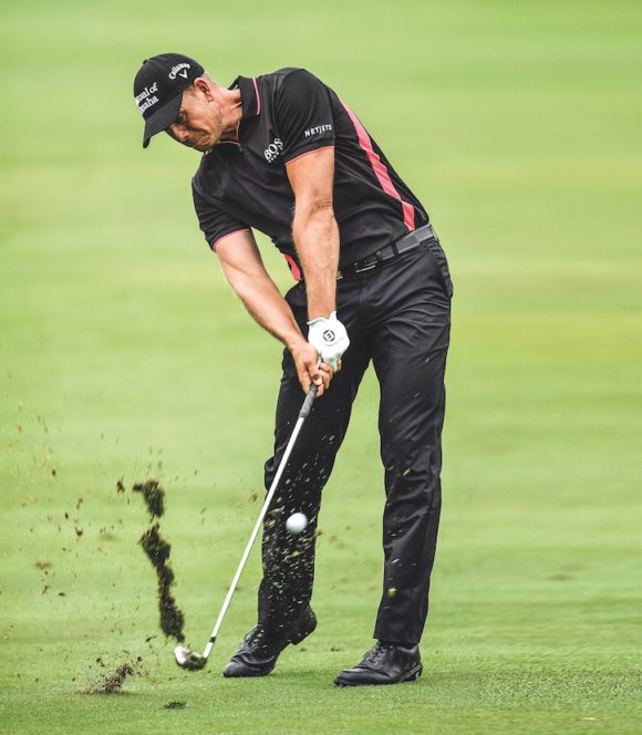 Henrik Stenson How To Hit Out Of A Divot Bunkered Co Uk