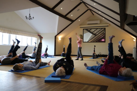 Hever Castle Pilates