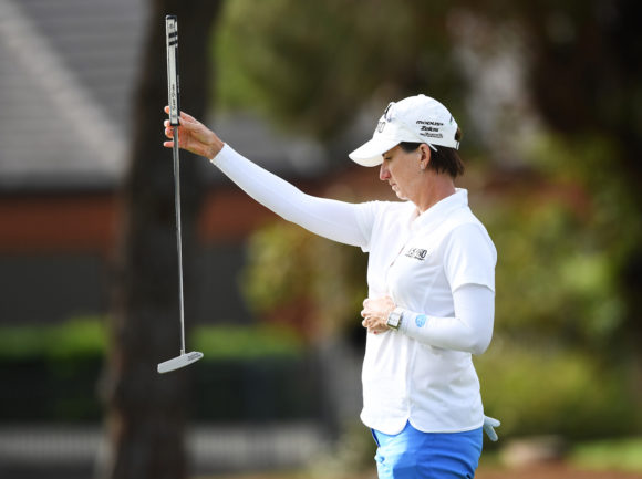 Karrie Webb Putting