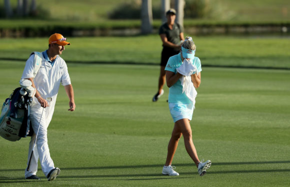 Lexi Thompson Kevin Mc Alpine 2
