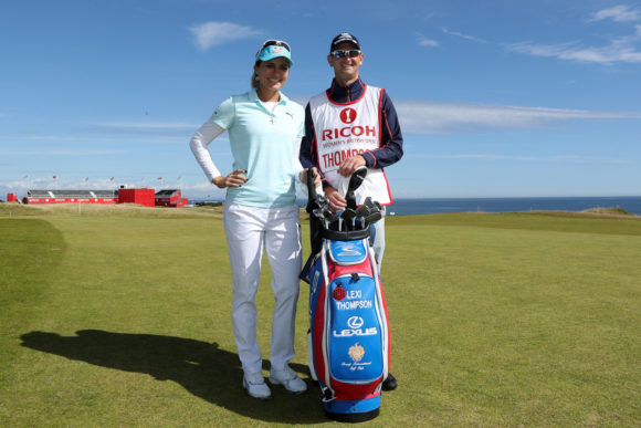 Lexi Thompson Kevin Mc Alpine 6
