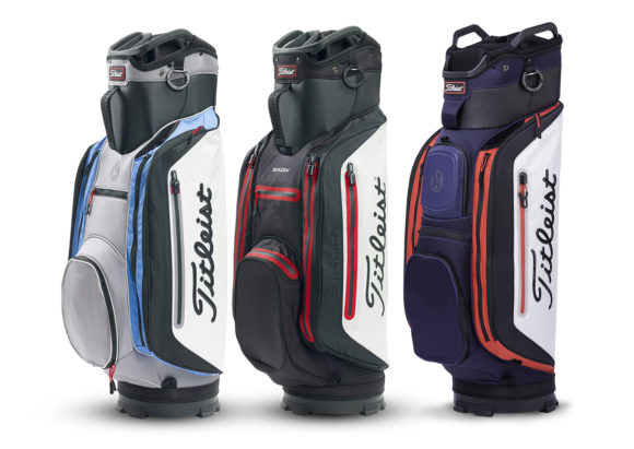 Titleist announces 2018 cart bag line