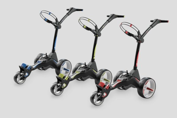 Motocaddy unveils stunning new M-Series trolleys