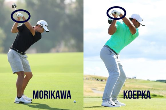 Morikawa Vs Koepka Left Wrist