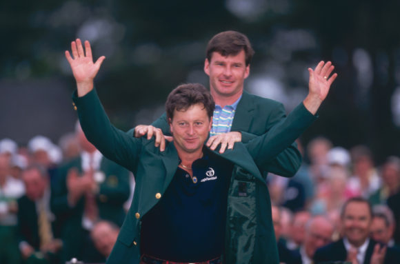 Masters Champ Woosnam