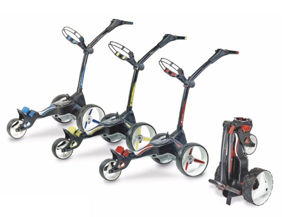 Motocaddy super-charges 2018 M-Series line-up