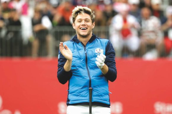 Niall Horan At Ryder Cup