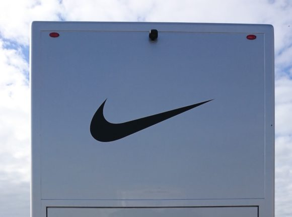 Nike doesn't make golf clubs, so why does it need a tour truck? We found out...