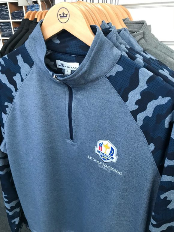 Pm Bringing Some Cammo Print To The Ryder Cup
