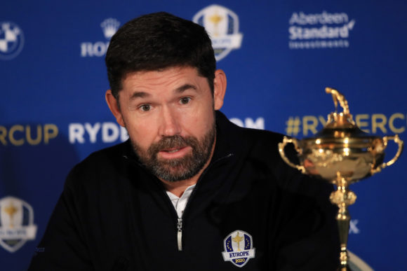 Padraig Harrington Ryder Cup Captain