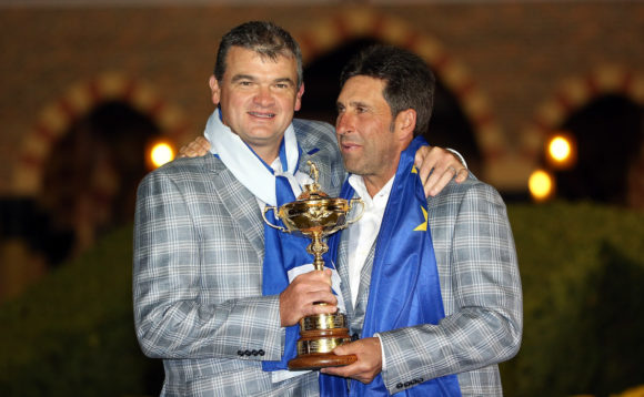 Paul Lawrie With Olazabal In 2012