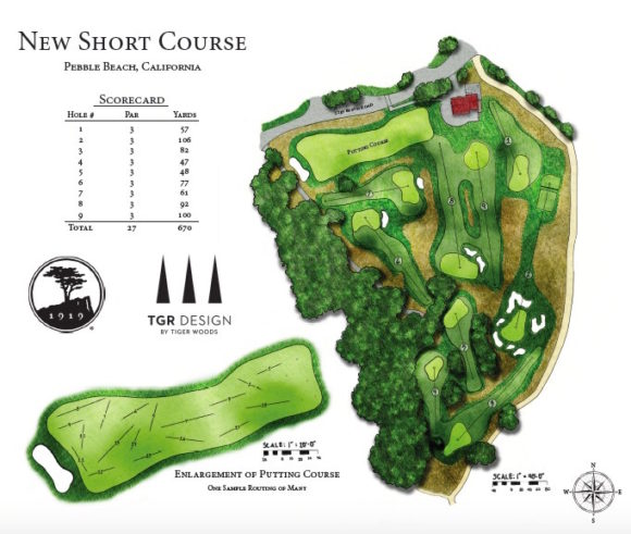 Pebble Beach New Short Course By Tiger Woods