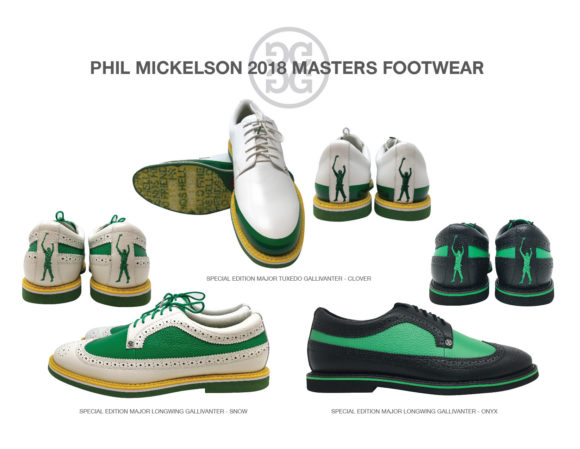 Phil Mickelson The Masters Footwear
