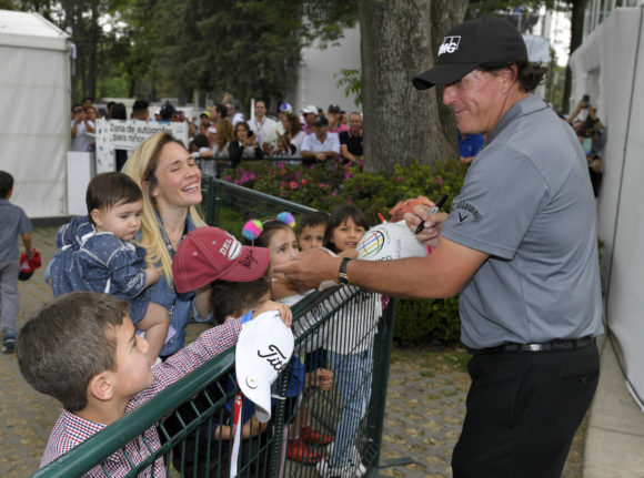 Phil Signing Autographs