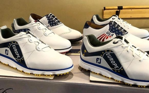 Ian Poulter teases new FootJoy Ryder Cup shoes