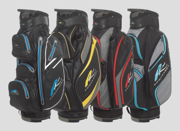 PowaKaddy announces 2018 Cart Bag Range