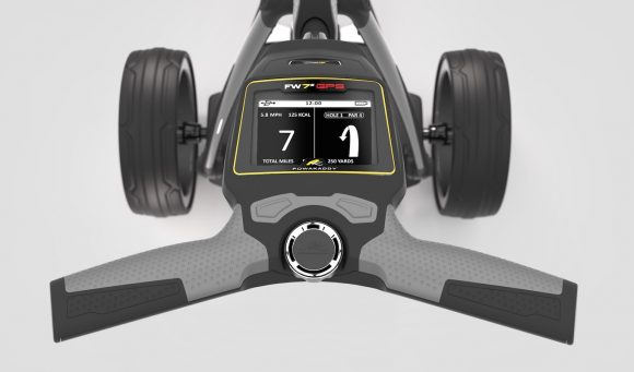 PowaKaddy launch first GPS trolley