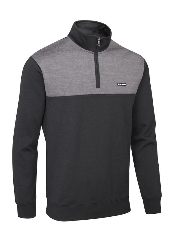 Pro Sport Zip Neck Performance Sweater