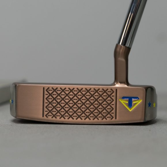 Sergio Garcia puts custom Ryder Cup Toulon putter in the bag