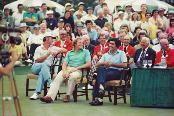 Seve Ballesteros 1980 Masters Prize Giving