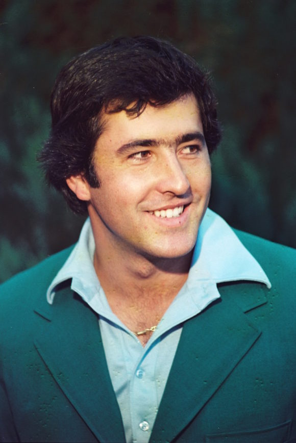 Seve Ballesteros 1980 Masters Wearing Green Jacket