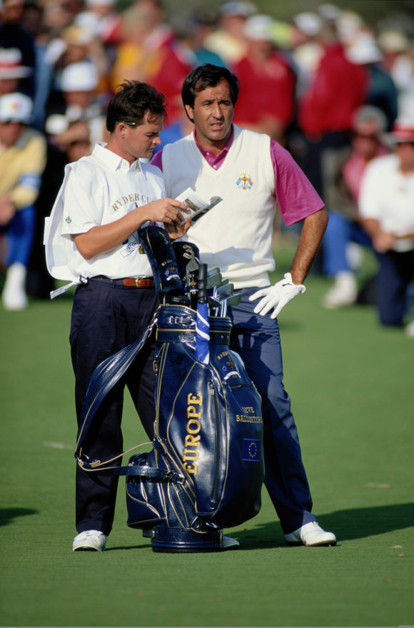 Seve Ballesteros And Billy Foster 3