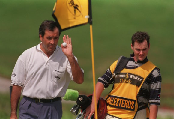 Seve Ballesteros And Billy Foster 5
