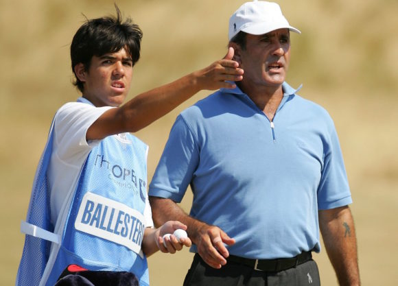 Seve Ballesteros And Son Javier