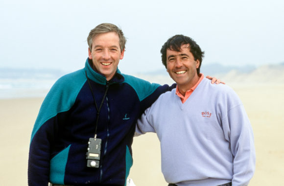 Seve Ballesteros With David Cannon