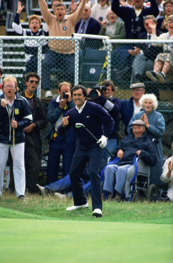 Seve Chip At 18 In 1988 Open