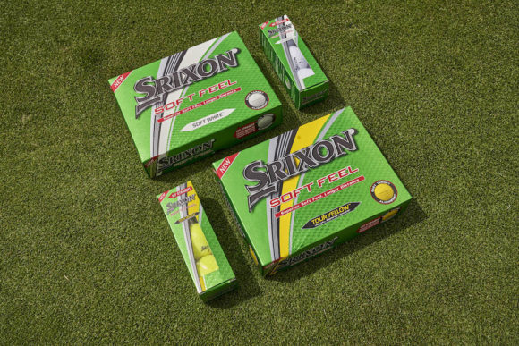 Srixon unveils latest generation of Soft Feel ball