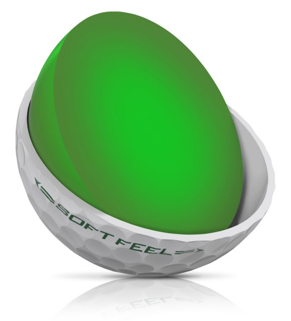 Srixon Soft Feel Ball Tech Pic